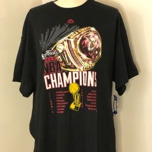 NBA 2016 Cleveland Cavaliers Championship T-sh…
